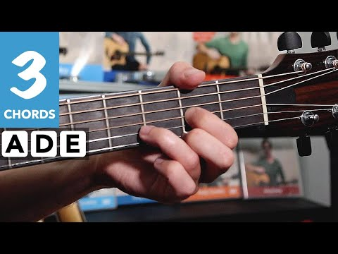 How to play That's Alright Mamma - Guitar songs with three EASY chords