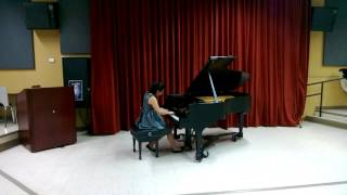 Anna Wang: Chopin I. Grave: Allegro di molto e con brio Etude in G-sharp Minor, Op. 25, No. 6