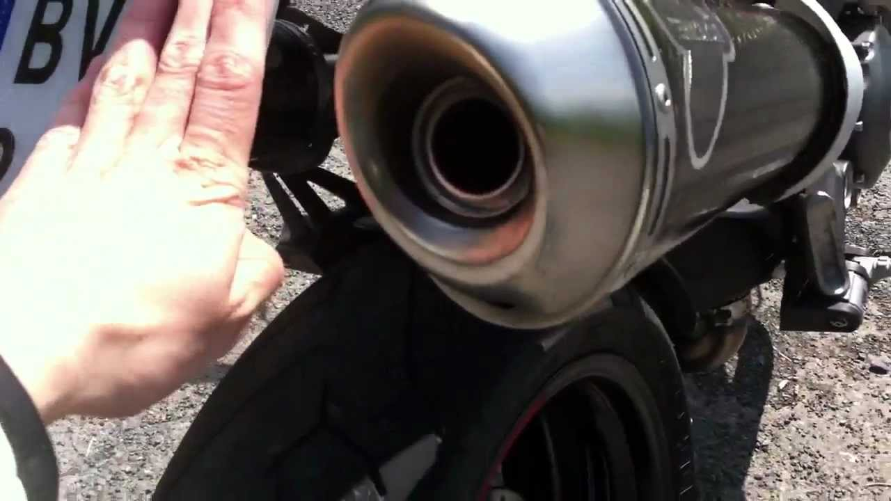 Ducati Monster 796 Carbon Termignoni exhaust sound - YouTube