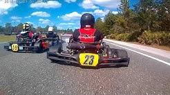 Kart racing jacksonville Florida 103rd street raceway