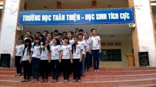Hành khúc trường Xuân Hưng - phần dự thi của lớp A1