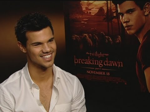 Twilight Taylor Lautner On Bella And Jacob In Breaking Dawn Youtube