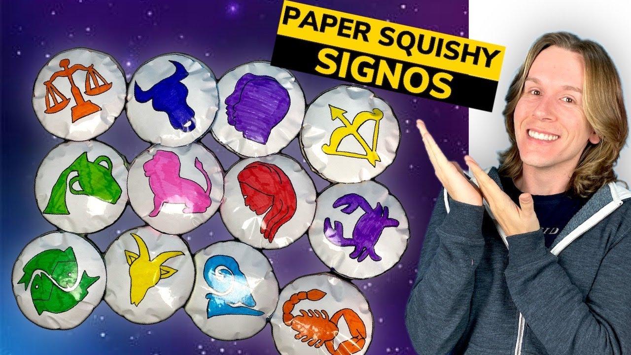 O PAPER SQUISHY DE CADA SIGNO | TIO LUCAS