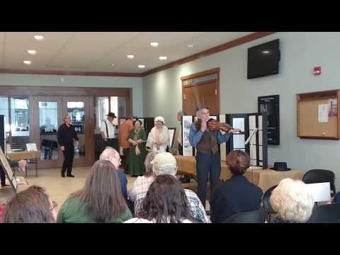 Union County (Illinois) Bicentennial ~ Violinist playing period music