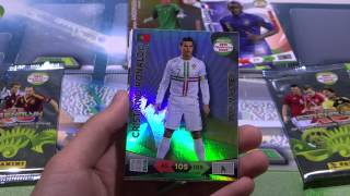 Opening Adrenalyn XL Road To World Cup 2014 Box break with Cristiano Ronaldo TOP MASTER Ep3