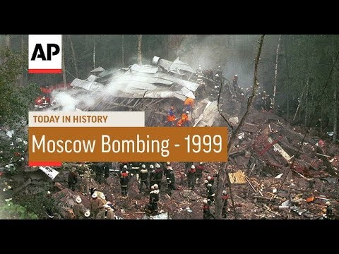 Moscow Bombing - 1999 | Today In History | 13 Sep 18