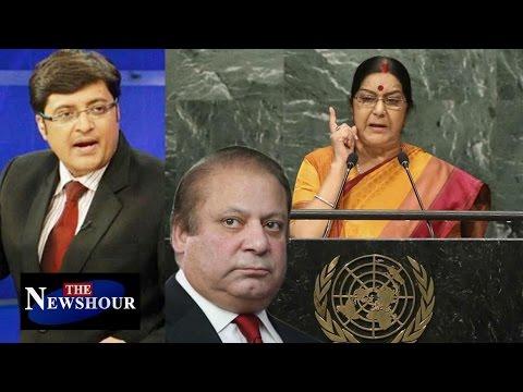 Sushma Swaraj's UNGA Speech: The Newshour Debate (26th Sep 2016)