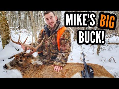 Mike's BIG Quebec Buck! Public Land Muzzleloader Deer ...
