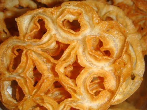 Rose cookie recipe indian