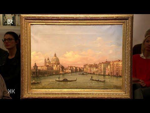 Riesiges Glück: wertvolle Venedig-Vedute bei Kunst + Krempel