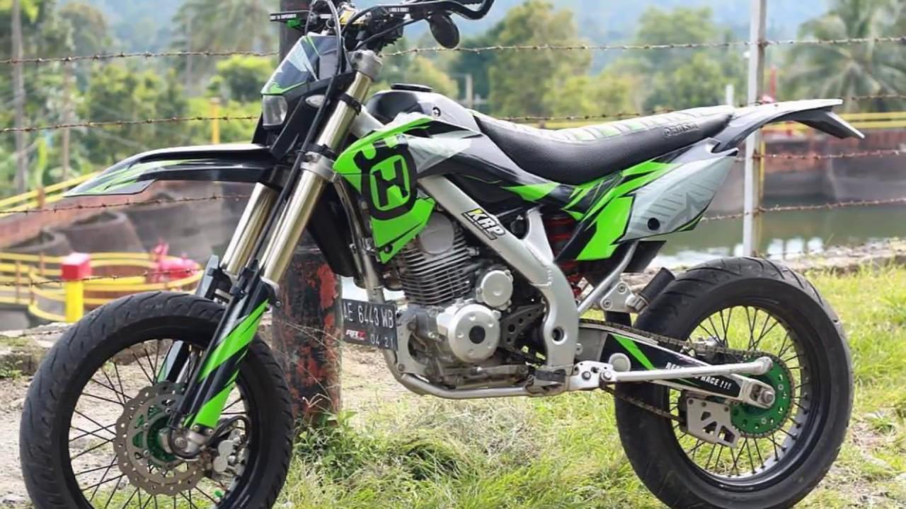 Modif Kawasaki Klx 150 Supermoto Keren Dan Terbaru Gaulotomotif