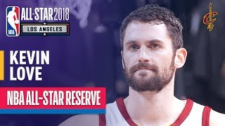 Kevin love, cavaliers (5th all-star selection): love (18.6 ppg, 9.4 rpg) is set to appear in the game as a cavalier for first time.subscribe ...