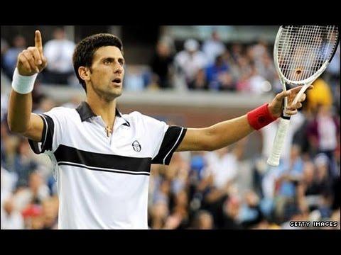 Roger Federer Vs Novak Djokovic Highlights HD US Open 2010 SemiFinals