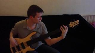 Demo basse Santander custom fretless cordes nylon Bartolini CF5CBC