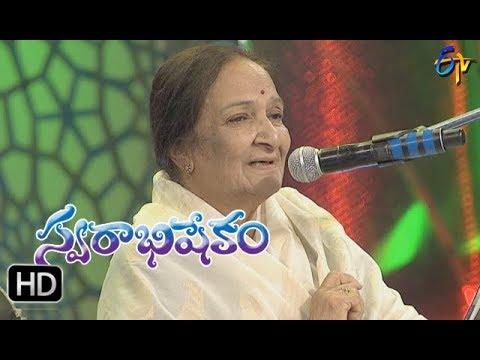 Thane Marena Song | Balasaraswathi,SP Balu Performance | Swarabhishekam | 19th November 2017| ETV