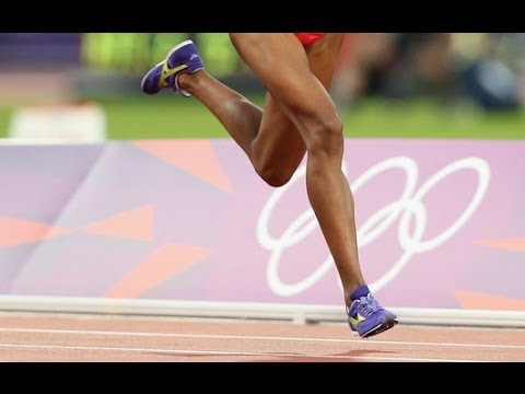 Forefoot Running is NOT Toe Running (slow motion of forefoot strike)