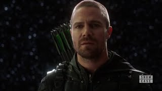 Supergirl 4x09 Oliver talks to The Monitor (HD)