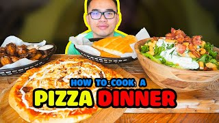 How to cook a PIZZA DINNER