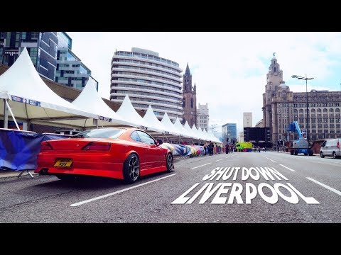 Drifters SHUT DOWN Streets of Liverpool!