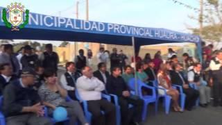 Inauguración de la Av. Jose Santos Chocano - Hualmay 2013