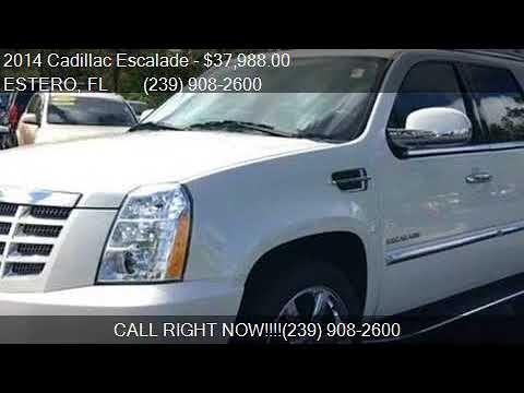 2014 Cadillac Escalade Luxury 4dr Suv For Sale In Estero Fl Youtube