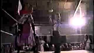 PCW Living on the edge Skitzo Mafioso vs Pogo the clown