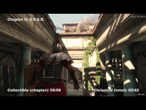 Ryse: Son of Rome - 100% Collectibles Guide - Chapter 2: S.P.Q.R. - Chronicles/Scrolls/Vistas