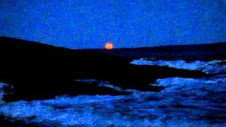 moonrise reid state park 19march2011