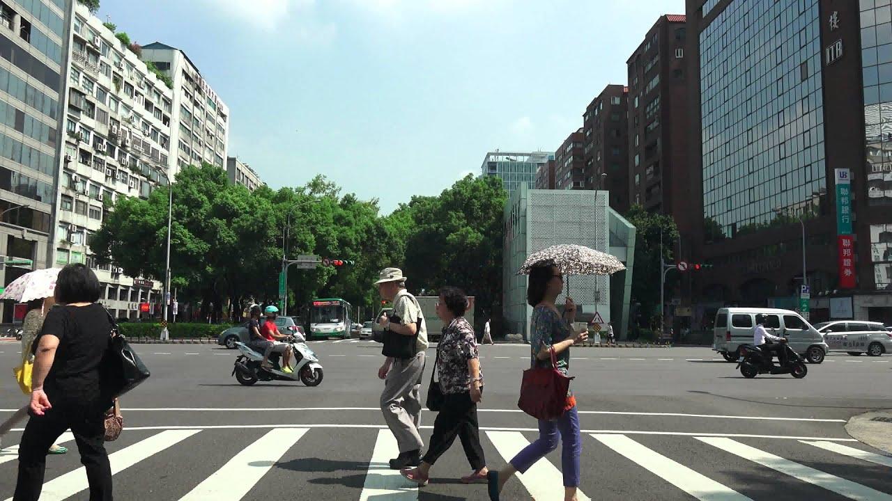 2015.8.1 台北市 敦化南路 敦化北路 北向 全程路程景