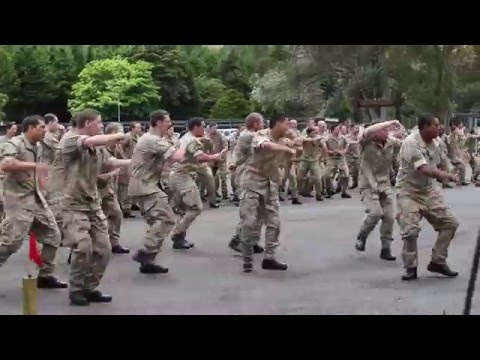 New Zealand Army Haka (Reserve Force 2016)