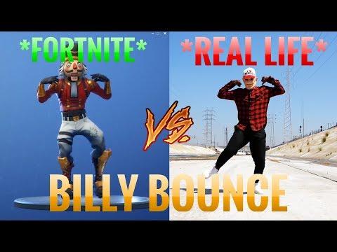 *BILLY BOUNCE* Fortnite vs Real Life