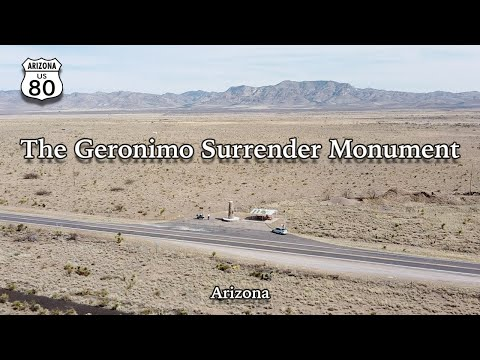 Checking Out The Geronimo Surrender Monument on Highway 80 in Arizona - Ben Azelart