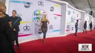Bebe Rexha at The 2017 American Music Awards