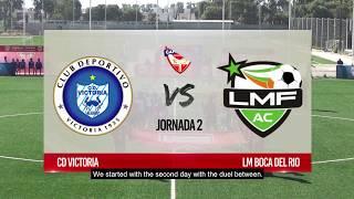 Resumen Jornada 2, Liga de Campeones CONCACAF Scotiabank Sub-13, 2017
