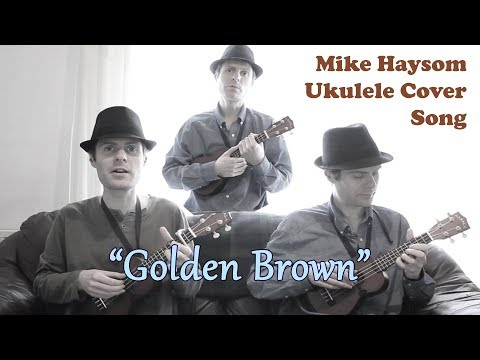 Golden Brown - The Stranglers - Ukulele Cover Song Duet / Trio / Ensemble with Vocals