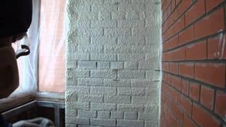Утепление лоджии с установкой foam kit .MP4(На данном ролике показано утепление стен балкона с помощью одноразовой установки foam kit 600, методом напылени..., 2011-02-06T10:45:53.000Z)