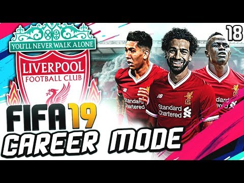 FIFA 19 LIVERPOOL CAREER MODE #18 | KING OF EGYPT ON FIRE | DRAMA VS ARSENAL IN TITLE RACE