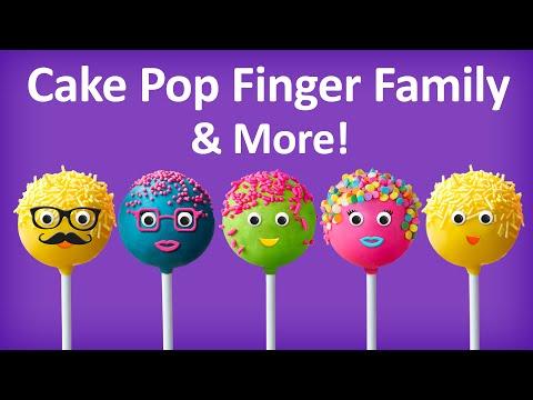 Cake Pop Finger Family Collection | Top 10 Finger Family Collection | Finger Family Songs