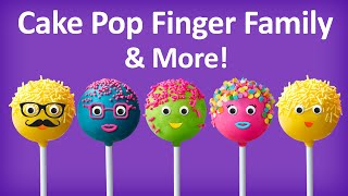 Cake Pop Finger Family Collection | Top 10 Finger Family Collection | Finger Family Songs