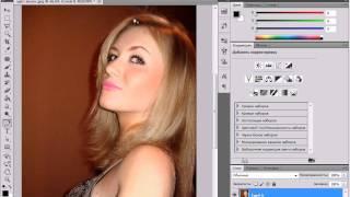 Как изменить цвет волос с помощью Photoshop?(В данном видеоуроке мы расскажем как изменить цвет волос на фотографии с помощью Photoshop. http://youtube.com/teachvideo..., 2011-09-12T15:03:20.000Z)