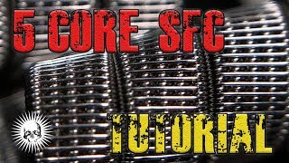 5 core Staggered Fused Clapton - Tutorial