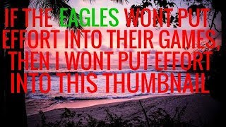 PHILADELPHIA EAGLES VS DALLAS COWBOYS POST-GAME SHOW: Nothing but apathy