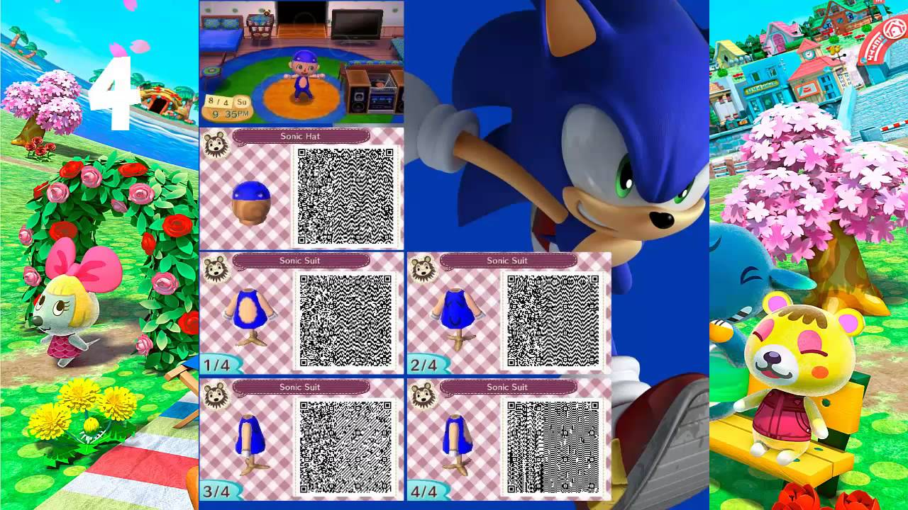 My Top 5 Qr Code S For Animal Crossing New Leaf 1 Youtube