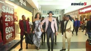 Idris atua 'Heaven Sent Premiere' na Wema akiwa na 'love bites'