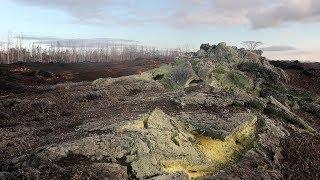Exploring Kilauea Lava Fissure 24 Leilani Estates Hawaii Volcano