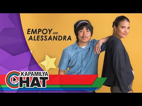 Kapamilya Chat with Alessandra de Rossi and Empoy for Since I Found You