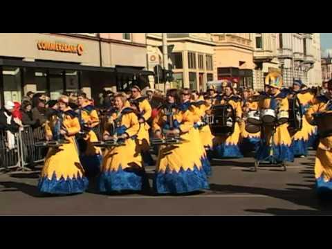 Karnevalsumzug in Cottbus