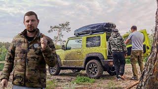 Выгуливаем Jimny, снимаем Навару и Хайлюкс и едем с Горынычем на закупки - Veddro Vlog