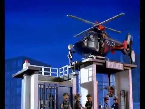playmobil - city action politie - politiekantoor met