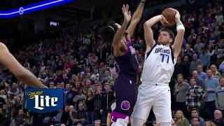 Derrick Rose NASTY Block on Luka Doncic | Mavericks vs Timberwolves - January 11, 2019